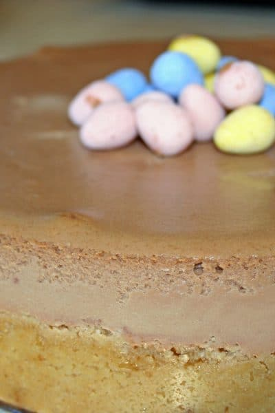 Easter, chocolate desserts