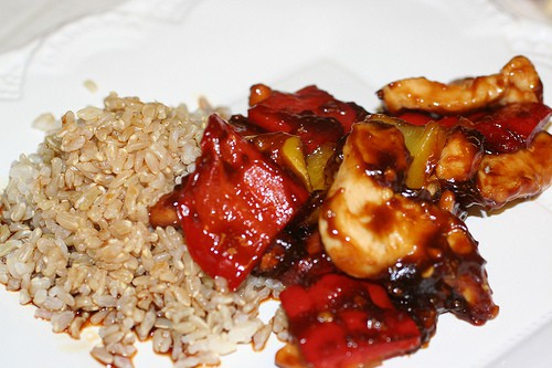 Honey Hoisin Sauce Chicken