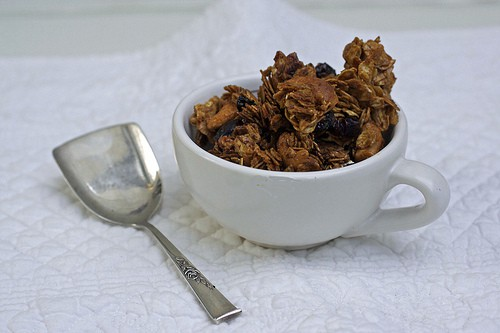molasses cranberry granola