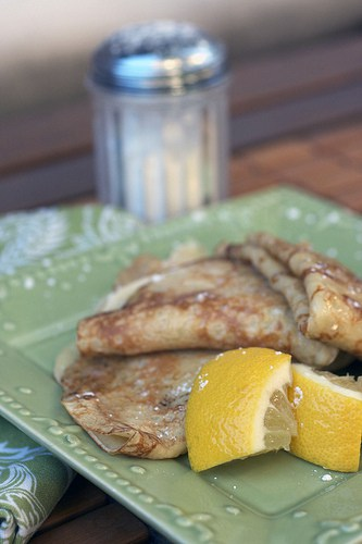 german lemon pancakes