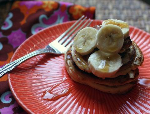 Nana's Banana Pancakes for Pancake Week