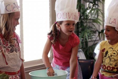 Lasagna Rollups: Kids Cooking Party