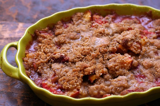Grilled Nectarine Crumble Recipes — Dishmaps