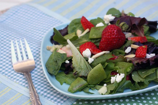 strawberry chopped salad