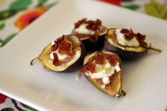 Baked Goat Cheese With Caramelized Onions And Mission Figs Recipes ...