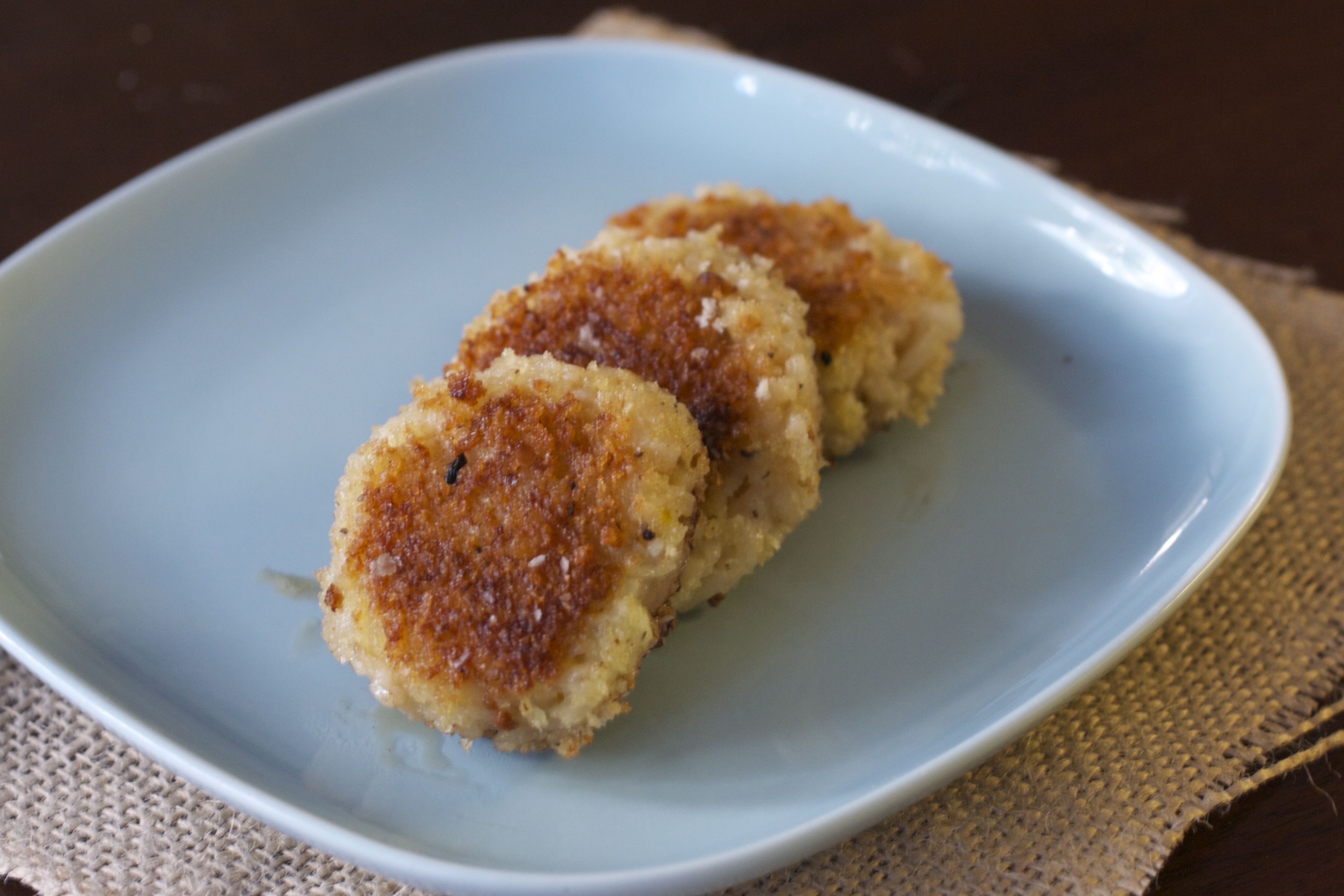Meyer Lemon Chile Risotto Cakes Recipe - Adventures in the Kitchen ...
