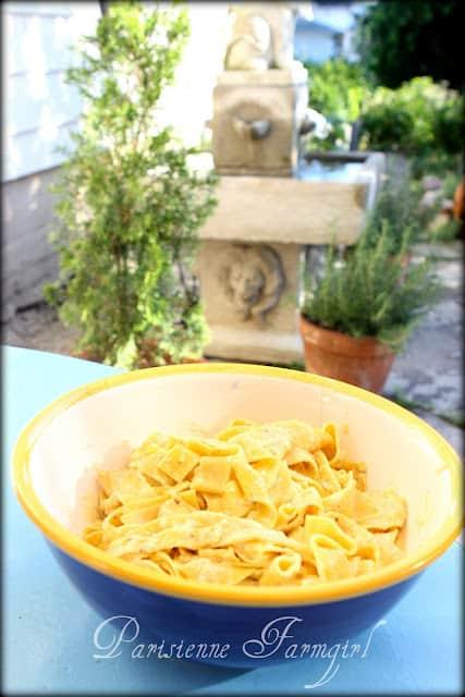 Parisienne Farmgirl's Lemon Pepper Pasta