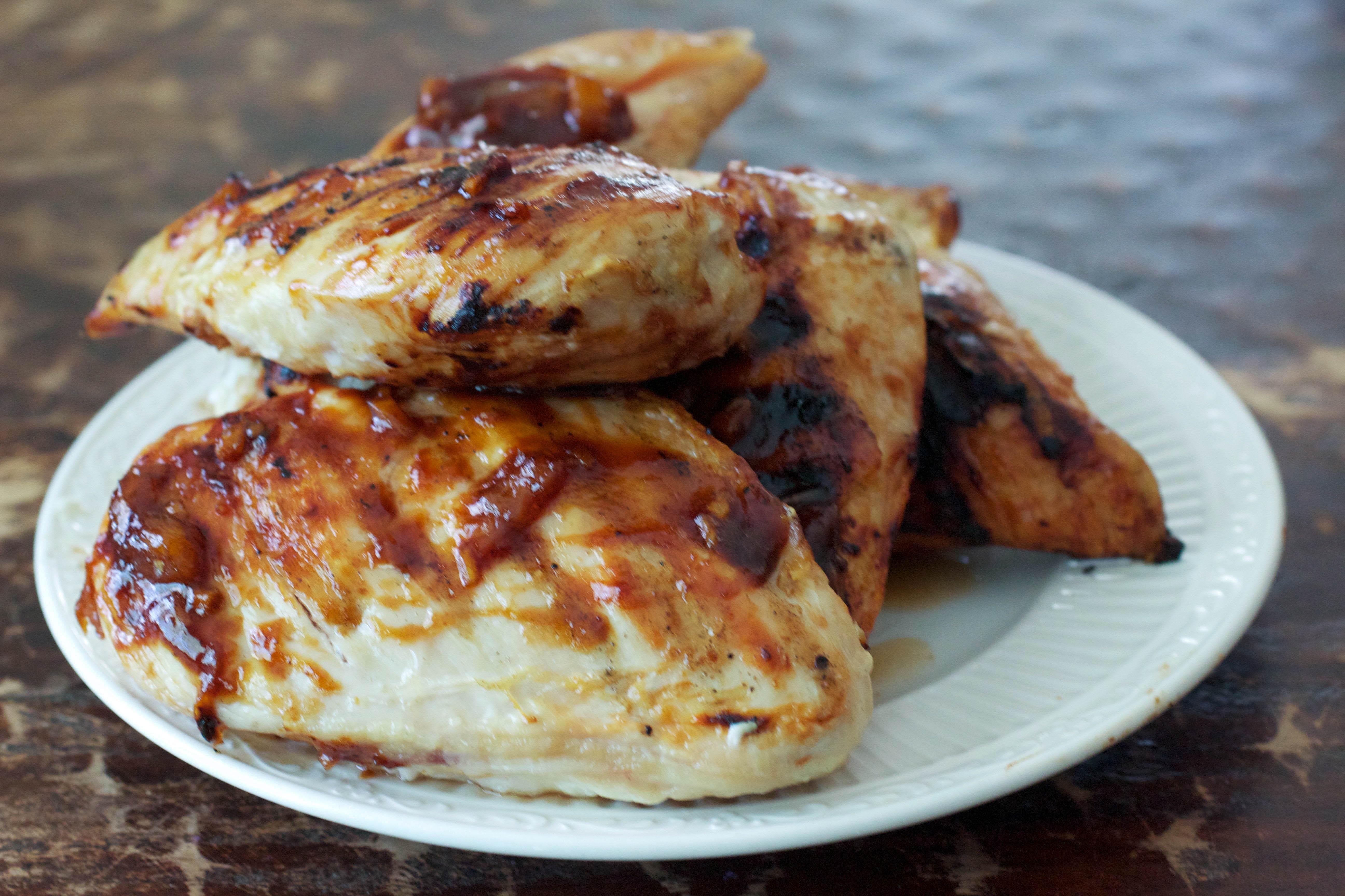 quick hawaiian barbecue chicken