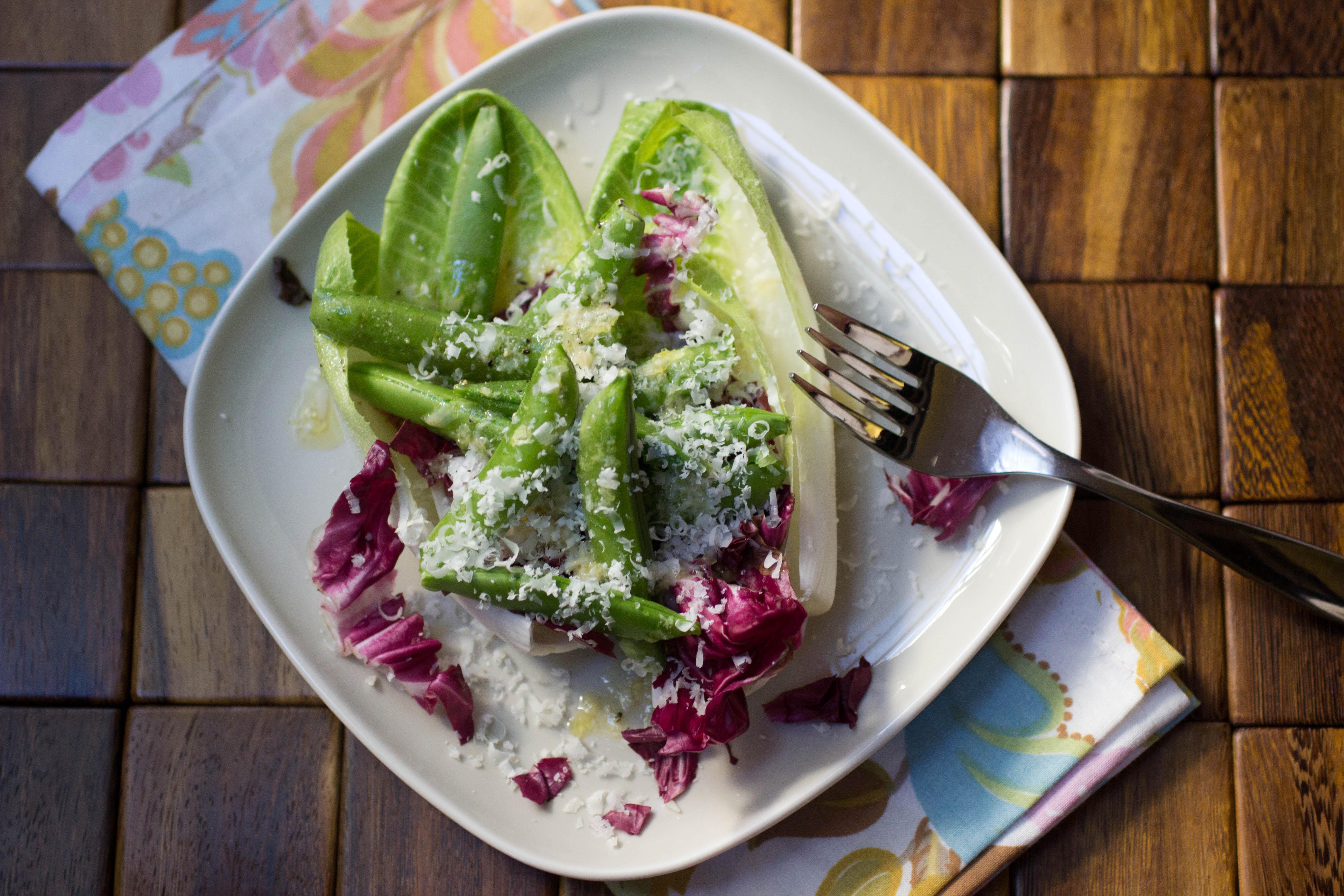 Sugar Snap Pea and Endive Salad