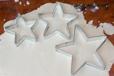 star cookies cutouts