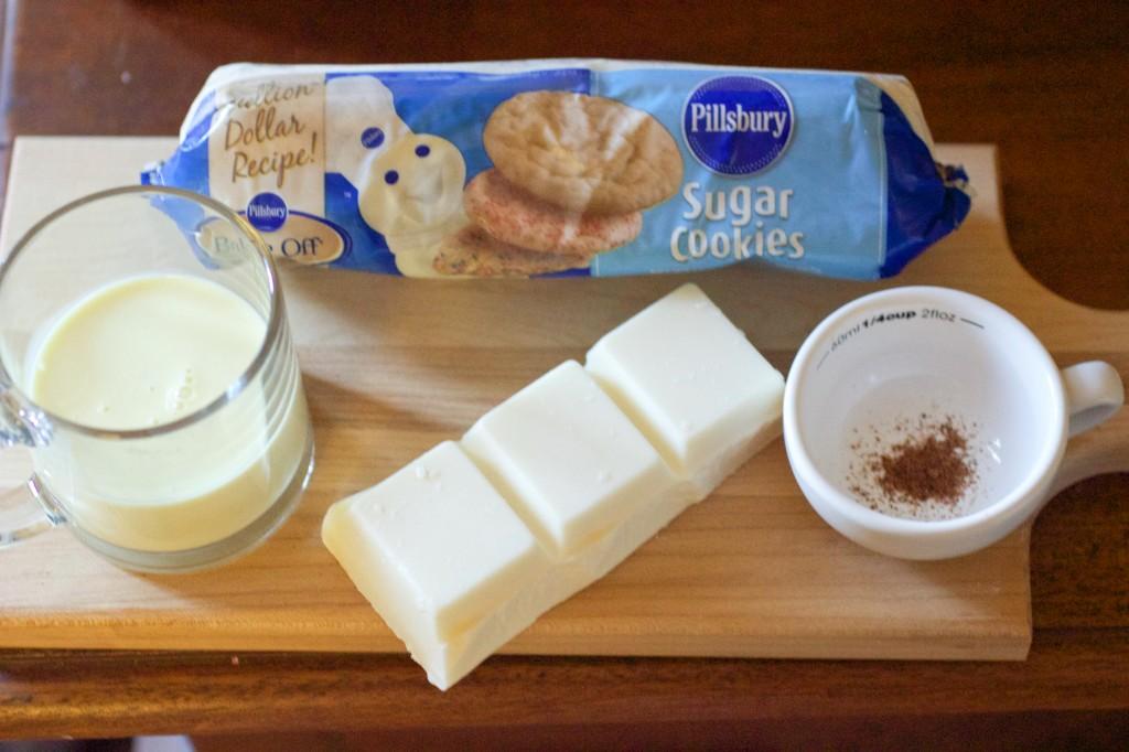 white chocolate eggnog tarts 1