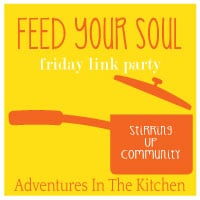 feed your soul button linky party
