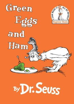 Green Eggs ad Ham book