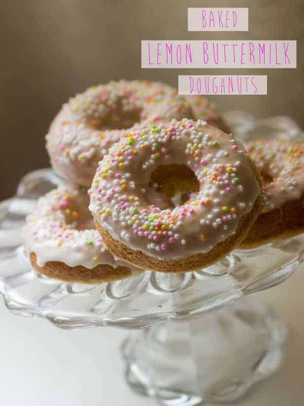 Baked Lemon Buttermilk Donuts