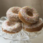 Baked Lemon Buttermilk Doughnuts
