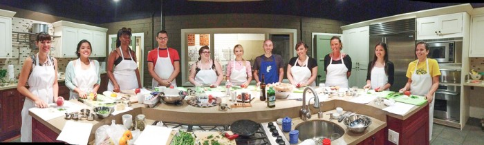 Team Building Cooking-Class