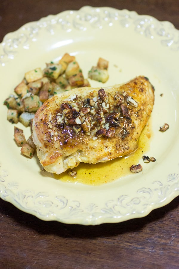 Mustard Pecan Chicken