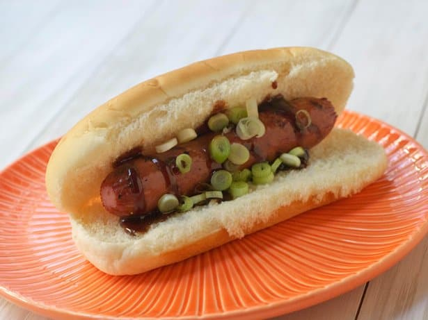 Hoisin Barbecue Hot Dog