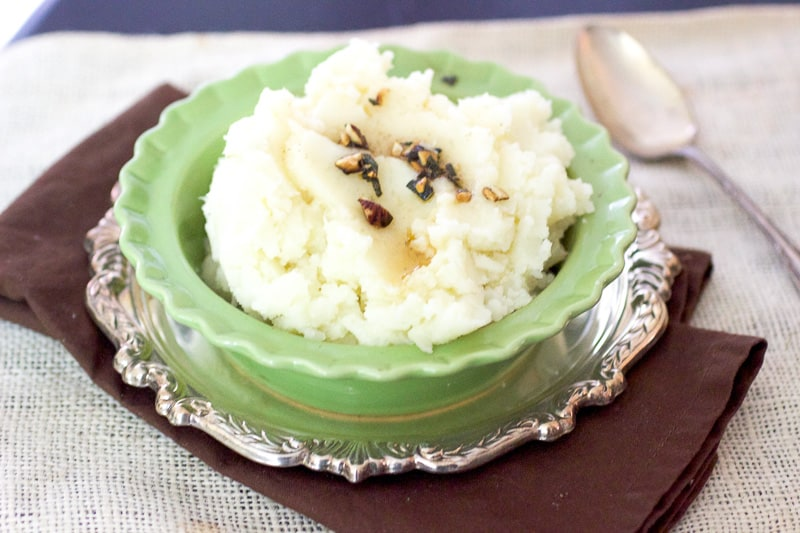 Sage Hazelnut Mashed Potatoes