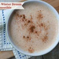Winter Dream Tea Smoothie