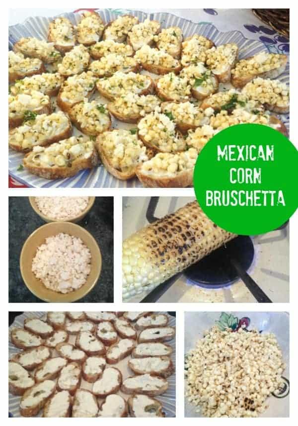 Mesican Corn Bruschetta