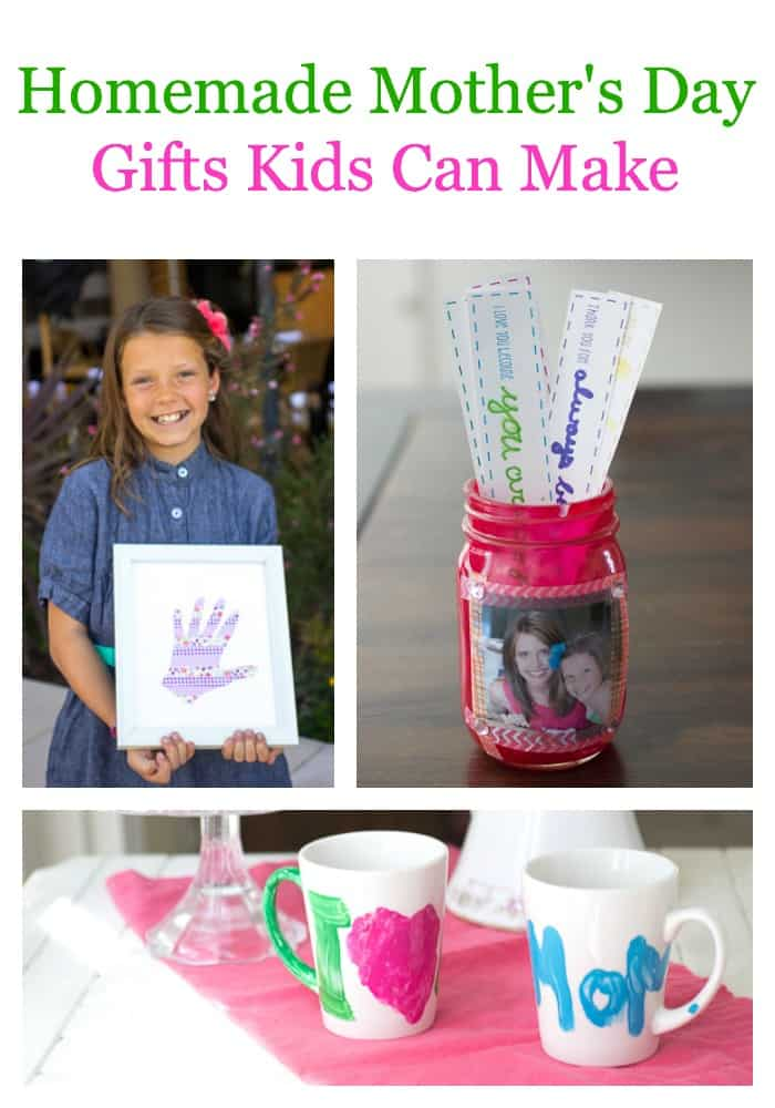 4 diy mothers day gifts