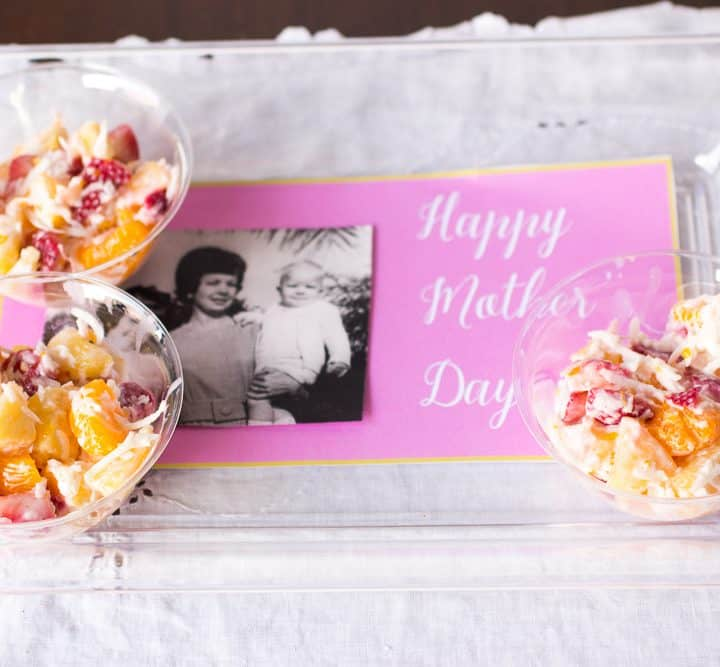 mothers day tray photo