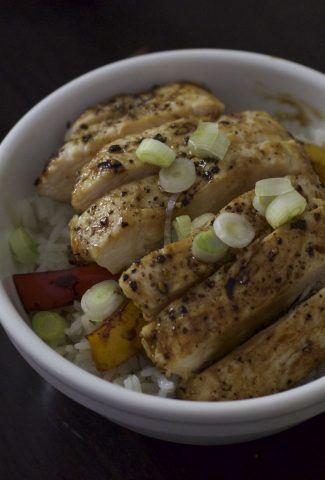 Lemon Teriyaki Bowl