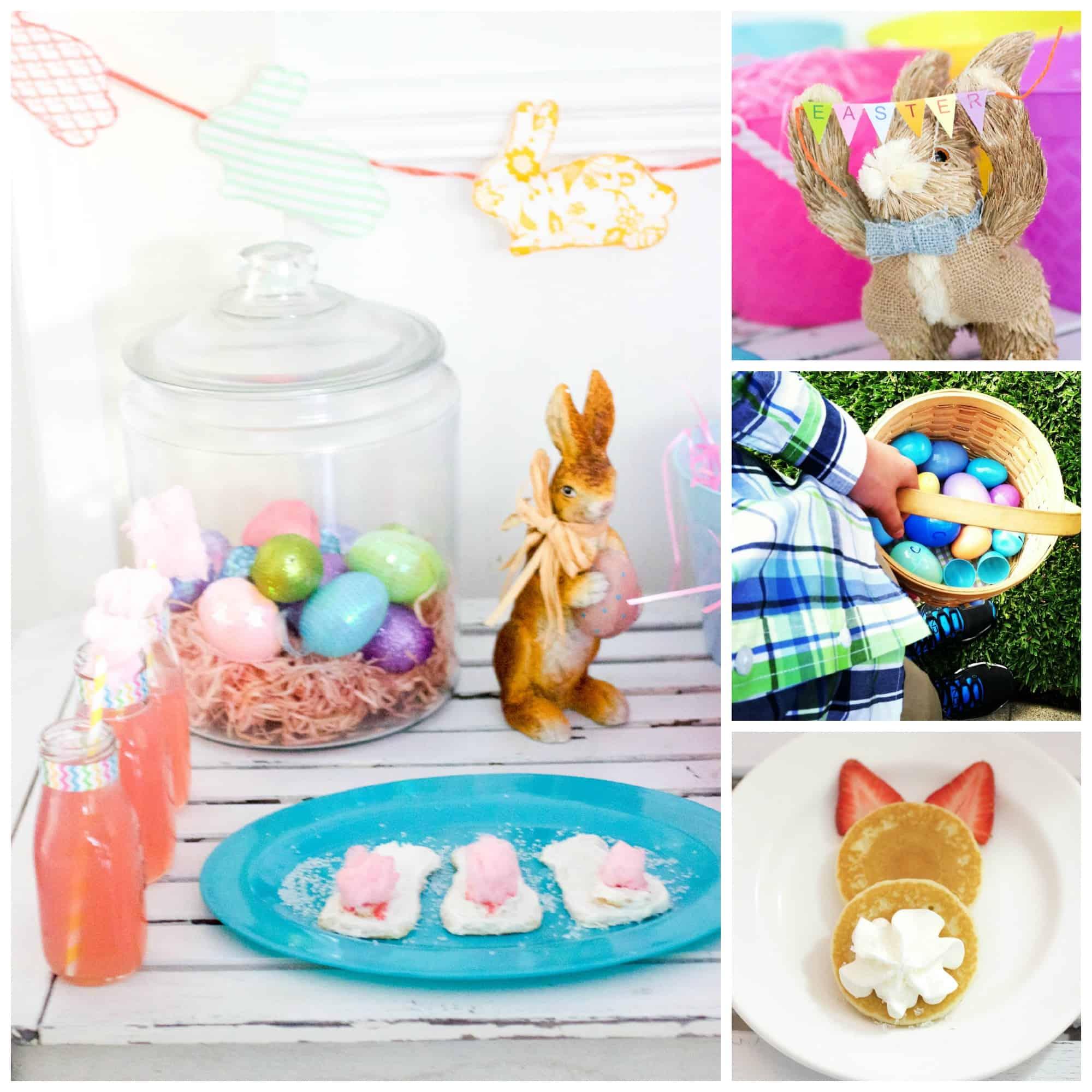 Easter Brunch and Egg Hunt Ideas