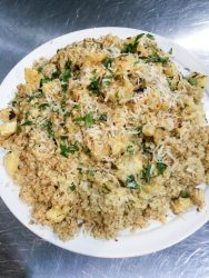 Team Building class menus 2 coconut lime quinoa recipe