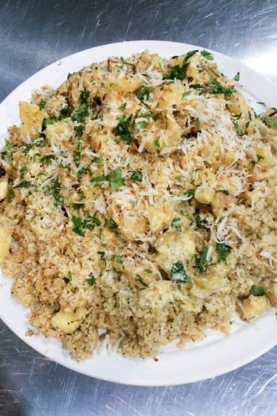 coconut lime quinoa recipe