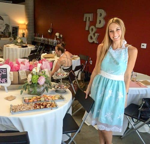 Bridal Shower Cooking Class
