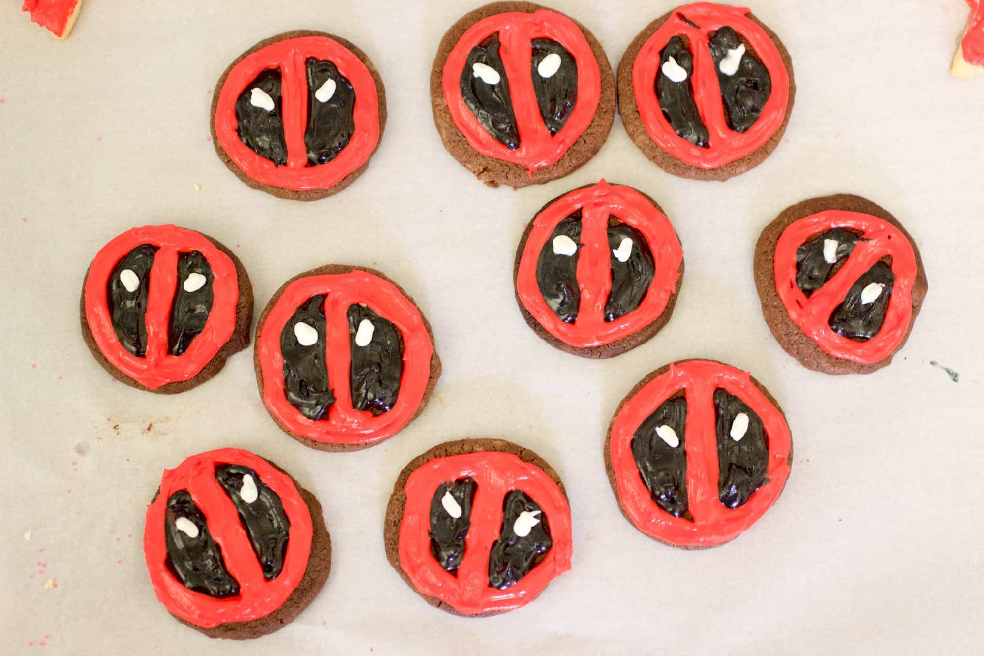 Deadpool Cookies Main