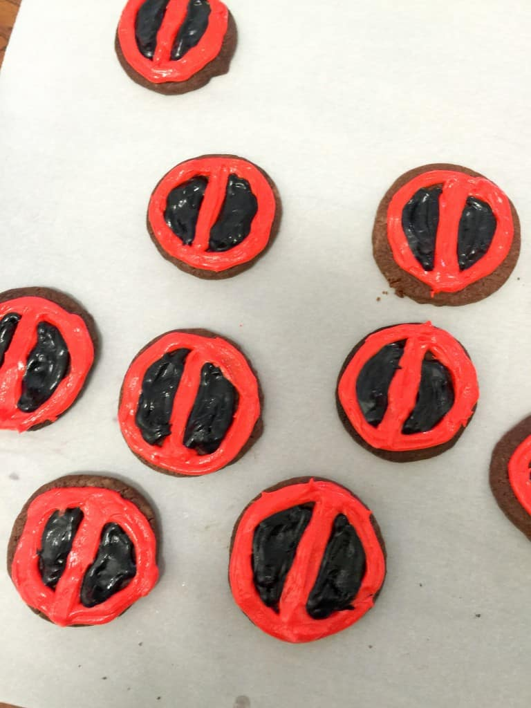 Deadpool Cookies (7 of 7)