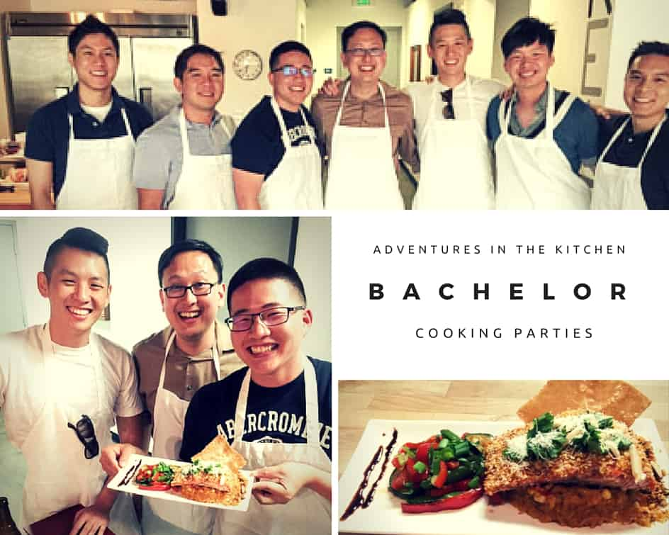 bachelor cooking party