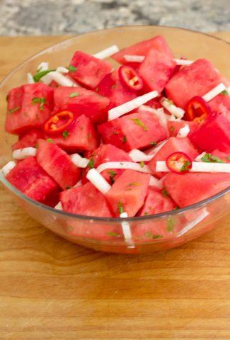 watermelon jalapeno salad 2