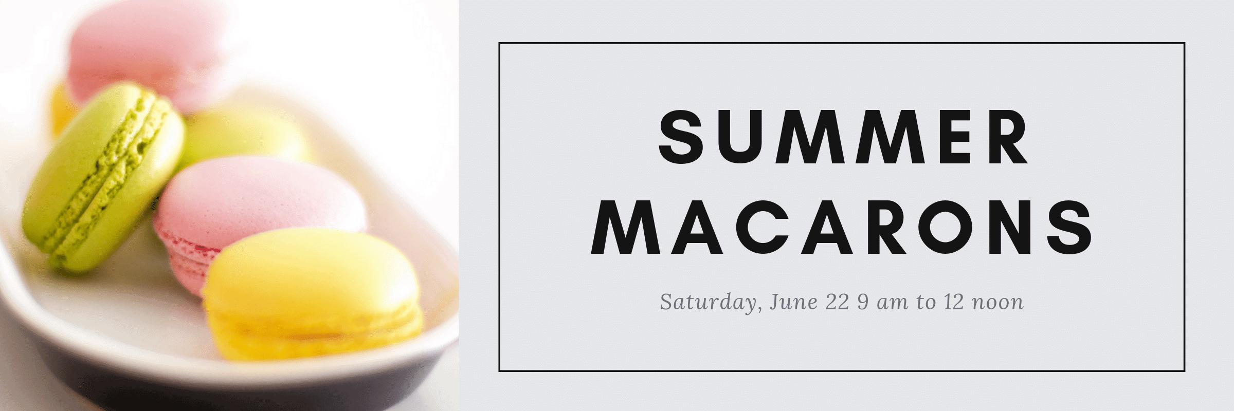 Summer Macarons (1)