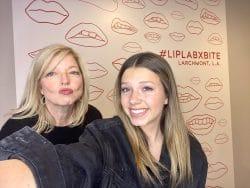 Livi and Cheri at Lip lab