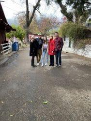 Liefeld family at Oak Glen